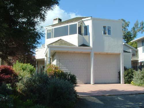 Sand Castle House from Street - 223/Sand Castle *GREAT OCEAN VIEWS* - Santa Cruz - rentals