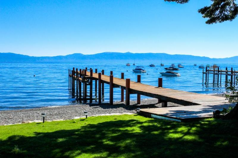Tahoe Lakefront with Sandy Beach, Pier & Buoy - Image 1 - Homewood - rentals