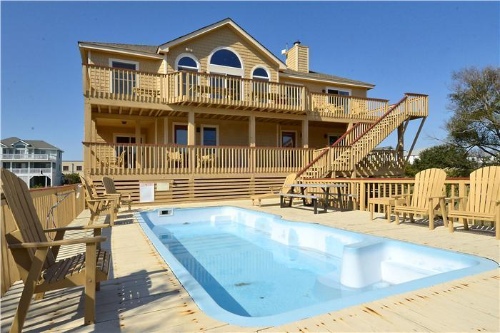 """About Time"" - ""About Time"" Pool, hot tub, walk to beach & shops - Corolla - rentals"