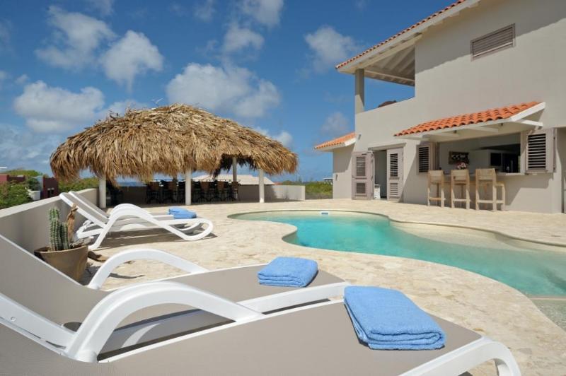 Villa Azure poolside - VILLA AZURE BONAIRE. new luxurious & private - Kralendijk - rentals