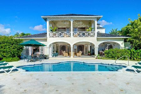 Oceana at Sugar Hill in exclusive gated community with ocean view, pool & staff - Image 1 - Barbados - rentals