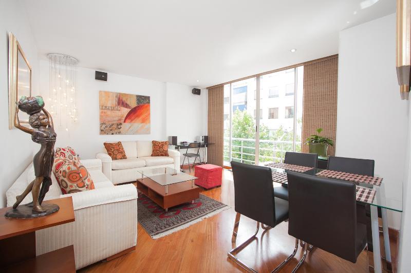 Eclectic 2 Bedroom Apartment in Zona T - Image 1 - Bogota - rentals