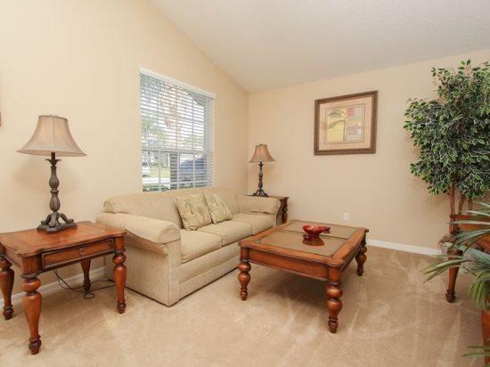 Living Area - GB3P1612MSD 3 BR Modern Home Close to Disney - Orlando - rentals