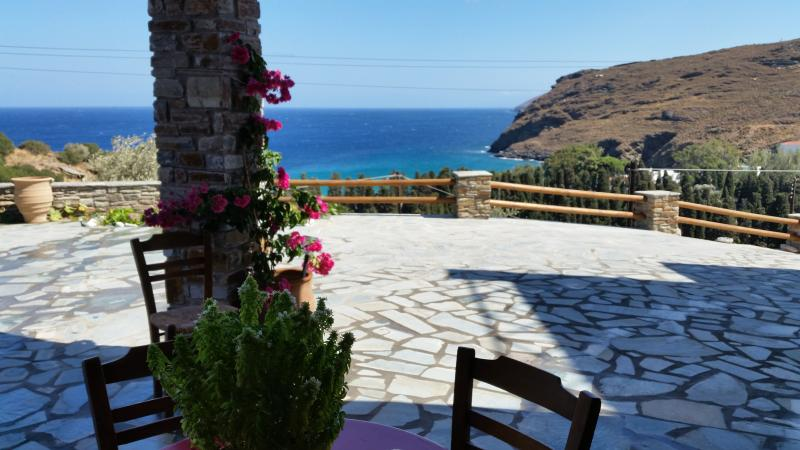 PANORAMIC VIEWS - Diamond Of The Aegean Sea - Andros - rentals