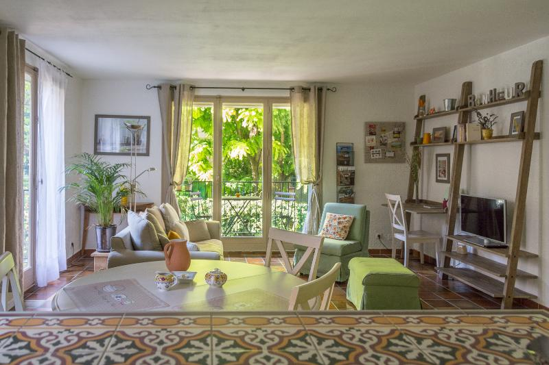 The large view from the open ktichen - Spacious 1 Bedroom Apartment Parking, Historical - Aix-en-Provence - rentals