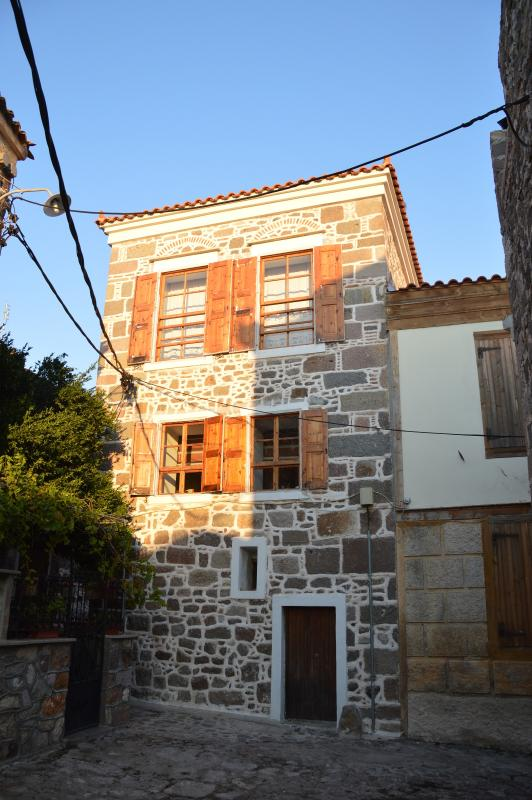 Molivos Tower beautiful face - MOLIVOS TOWER - traditional stonehouse villa 1750's - Molyvos - rentals