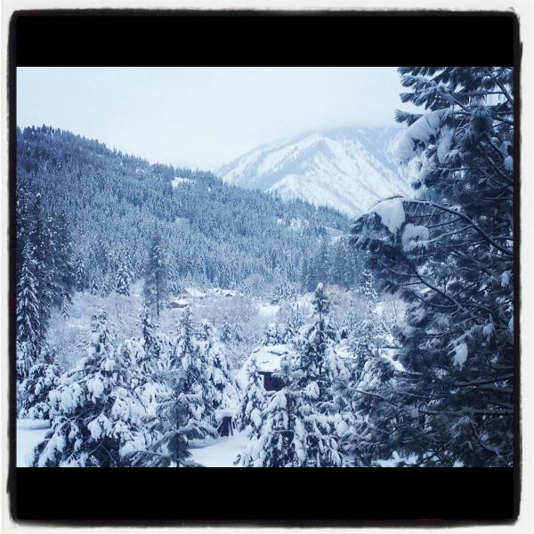 Winter View from the deck - Longing for Leavenworth - Leavenworth - rentals