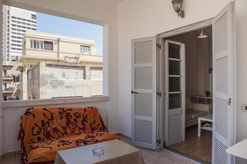 Windy balcony - Perfect after a hot day at the beach - Beautiful 2bd Sea Side apt - Gedera - rentals