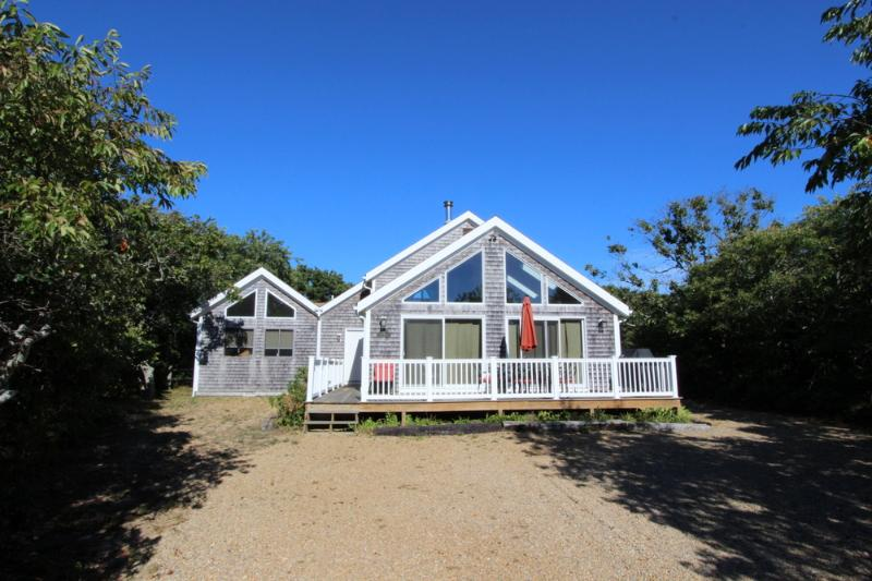 #7173  A great deck for lounging after a long beach day - Image 1 - Edgartown - rentals