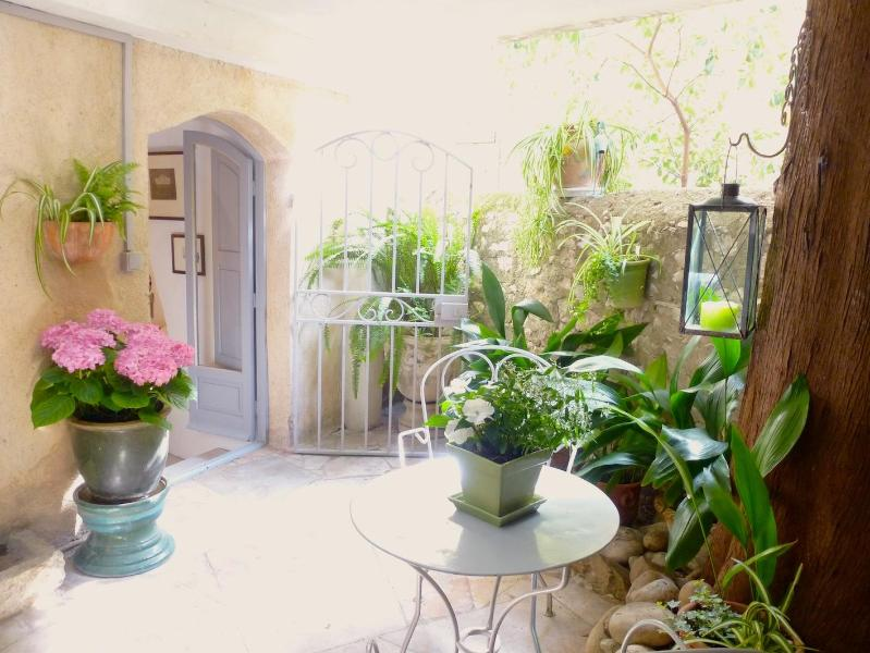Covered terrace - Delightful Spacious Studio With Covered Terrace - Cagnes-sur-Mer - rentals