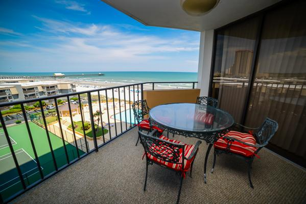 Beautiful views from your private balcony - Maison Sur Mer, great 2BR beachfront condo!!! - Myrtle Beach - rentals