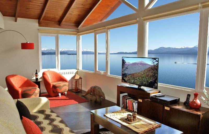 Panoramic views directly over the lake - Luxury Lake View Penthouse - San Carlos de Bariloche - rentals