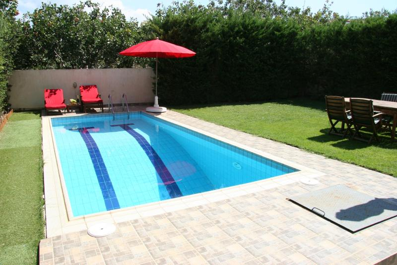 Swimming Pool - Athens seaside apartment 85m2 with pool and garden - Athens - rentals