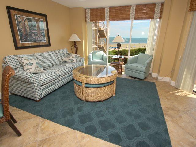 Living area - Villamare, 3432 - Hilton Head - rentals