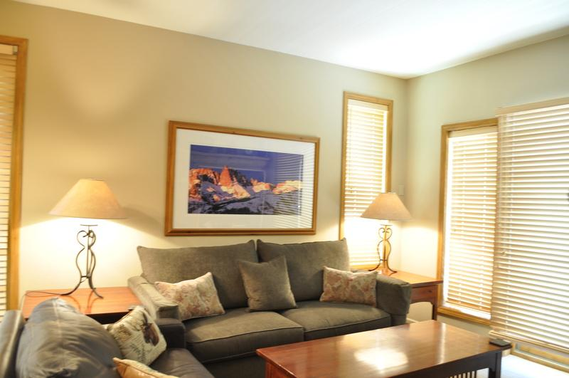 Queen Sleeper Sofa/ Living Room - Mammoth Green # 211 - Mammoth Lakes - rentals