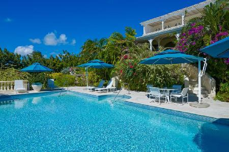 Fig Tree House #1 with Beach access, wide covered terrace within Royal Westmoreland resort - Image 1 - Barbados - rentals