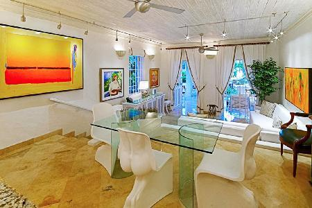 Plumbago at Emerald Beach (4)- dazzling ocean views, lush garden & beach access - Image 1 - Barbados - rentals