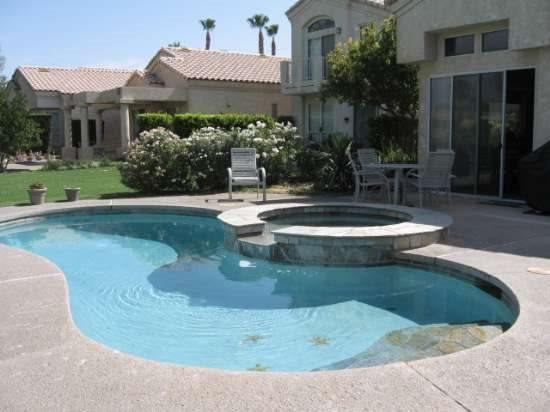 THREE BEDROOM VILLA WITH PRIVATE POOL & SPA ON EAST TRANCAS - VPS3BAK - Image 1 - Palm Springs - rentals