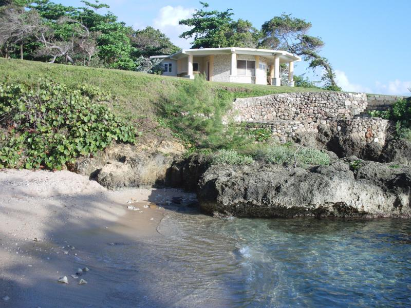 Dream Maker looking over private beach cove - Dream Maker. Private beach paradise in Jamaica. - Robin's Bay - rentals