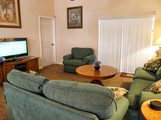 3 Bedroom 2 Bathroom Villa In Bridgewater Crossing. 326HBD - Image 1 - Kissimmee - rentals