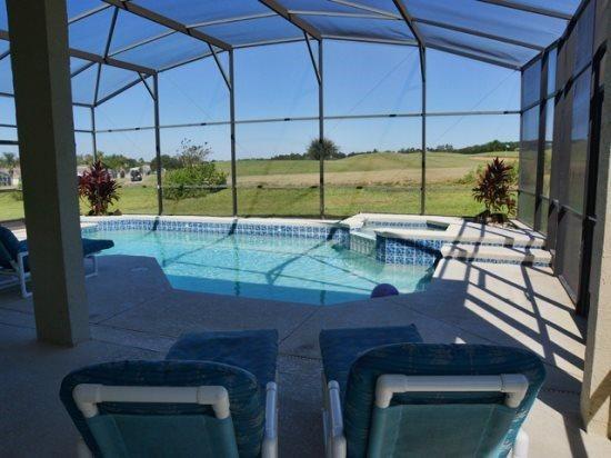 Huge 4 Bedroom 3 Bathroom Golf Resort Villa in Highlands Reserve. 212PD - Image 1 - Orlando - rentals