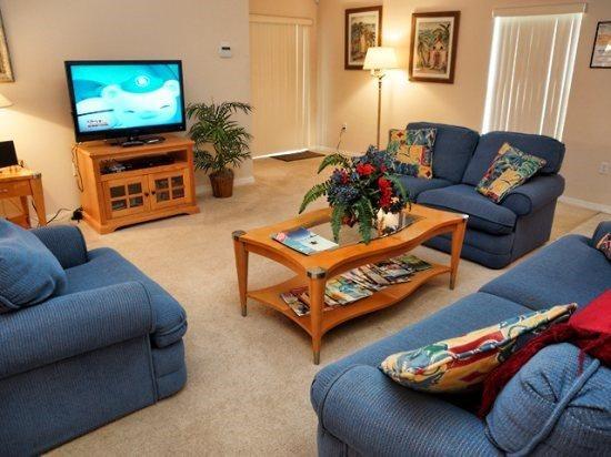 Sandy Ridge 4 Bedroom 3 Bathroom Villa with Pool and Spa. 1621RBD - Image 1 - Orlando - rentals