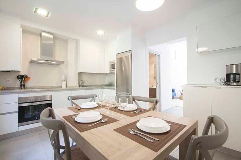 Dining room and kitchen - Sienna - San Sebastian - rentals