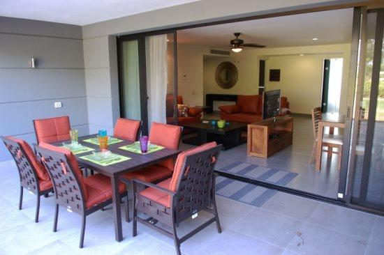 Nick Price Green - terrace - Playa del Carmen Vacation Rentals - Nick Price Green - Riviera Maya - rentals