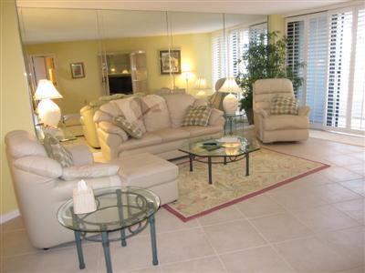 Living Room - SST2-201 - South Seas Tower - Florida - rentals