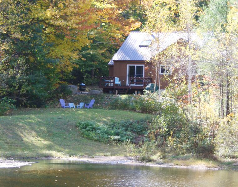 Front view of our home - Peaceful Family Retreat with Pond & Views - Bartlett - rentals