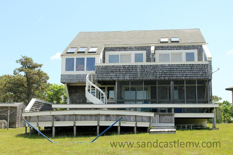 724 - CHAPPAQUIDDICK HOME WITH EXPANSIVE VIEWS OF KATAMA BAY AND A SALT WATER MARSH - Image 1 - Edgartown - rentals