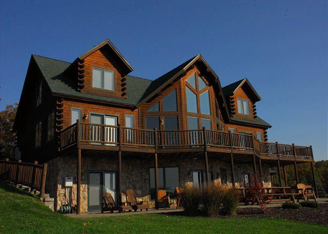 Exquisite 5 Bedroom Luxury Log home offers amazing lake & mountain views! - Image 1 - Swanton - rentals