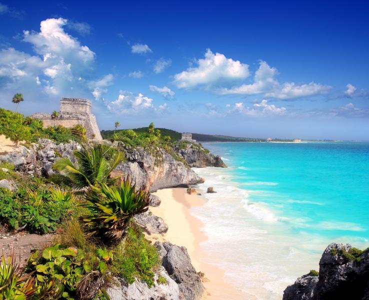 The ruins on the most beautiful beach - Zama Village - Tulum - rentals