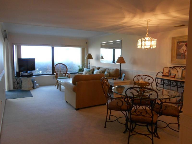 Living room Area - Amelia Surf & Racquet Club B-102 - Amelia Island - rentals