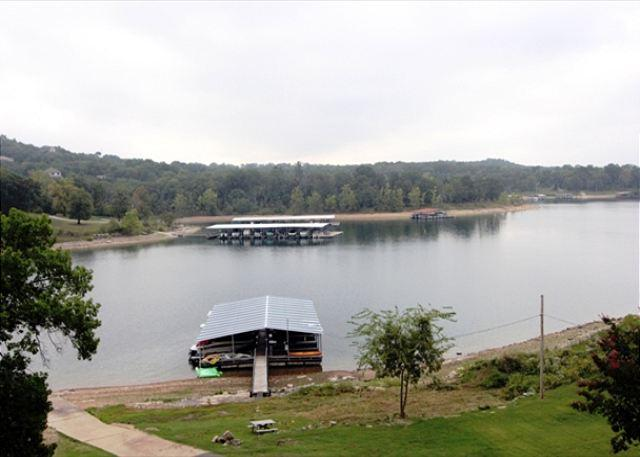 View from Patio - Celebration Station-3 Bedroom, 2 Bath Table Rock Lake Front Condo - Branson - rentals