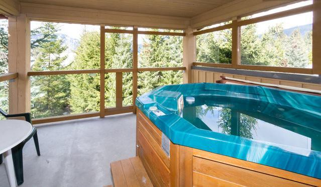 Private hot tub off the master bedroom - 1 Bedroom Townhome with Private Hot Tub, Free WiFi - Whistler - rentals