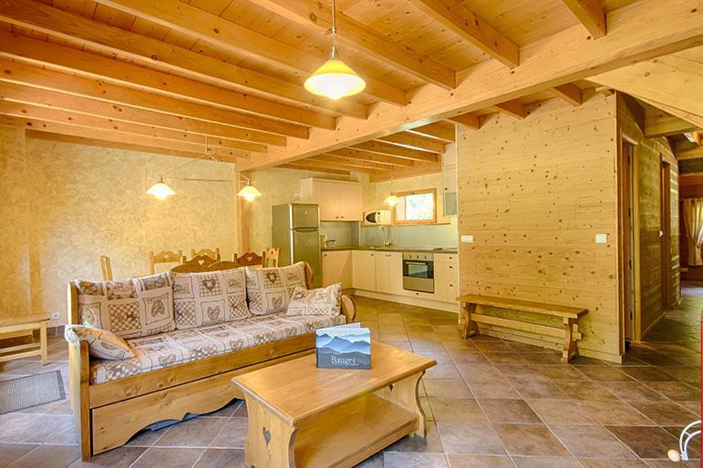 "living room - Rental Gite Le Moulin ""Lanchette"" wtih Spa in Savoie Alps - Savoie - rentals"