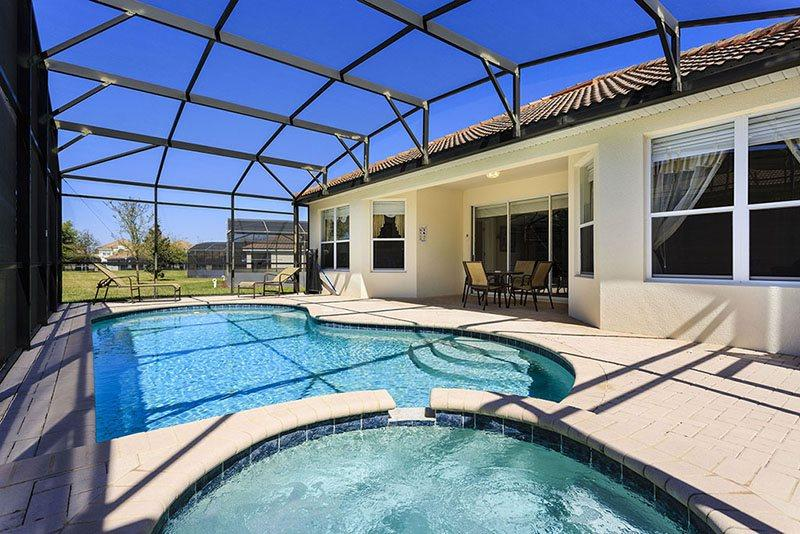 Floridian Haven | Magical Pool Home with Family Games Room, Harry Potter & Frozen Themed Bedrooms - Image 1 - Four Corners - rentals