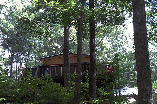 Front View from driveway - Cozy Cohutta Cottage  Bargain w/ Hot Tub - Ellijay - rentals