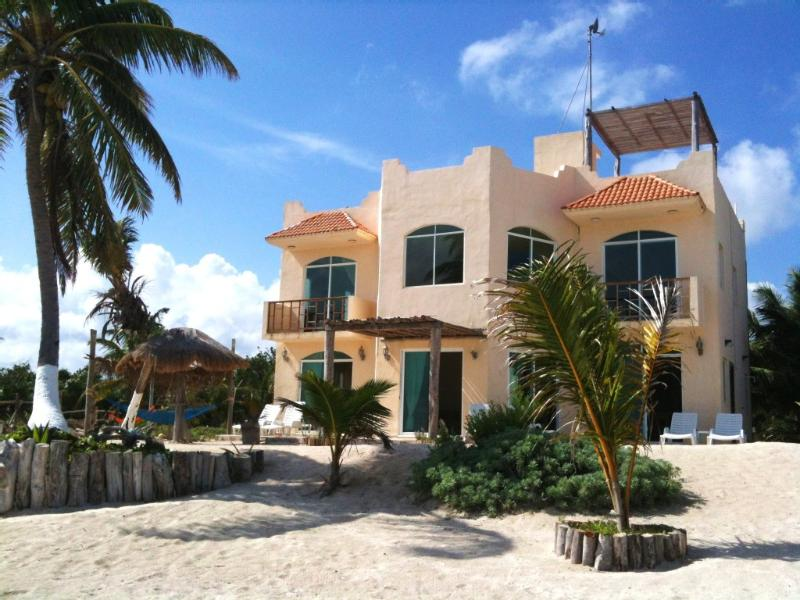 Beach side of your Puerto Angel dream home with Caribbean Views from every room - Serene + Soothing + Saucy + Seaside + Surroundings + 1,2,or 3 bedroom - Majahual - rentals