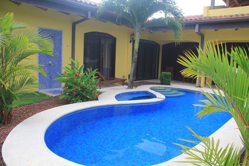 Private pool - EcoVida Casa Famosa with Pool at Playa Bejuco - Playa Bejuco - rentals