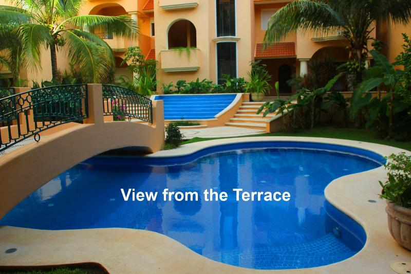 Garden Pool View - Great Value steps from the beach - Casa Nautica - Puerto Aventuras - rentals