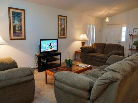 4 Bedroom 3 Bathroom Villa in Tivoli Manor. 336TC - Image 1 - Kissimmee - rentals