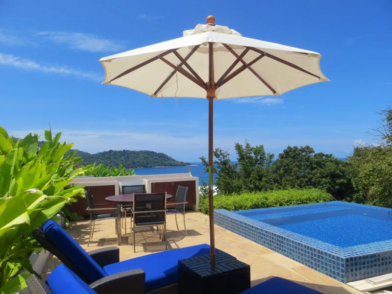 Private Rootop Ocean View Terrace With Pool - Kata Gardens Ocean View Penthouse Private Pool Walk To Beach - Kata - rentals