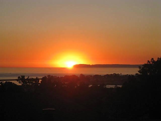 Sunset from upstairs. You are going to love it here. - Ocean View home in Dana Point! - Dana Point - rentals