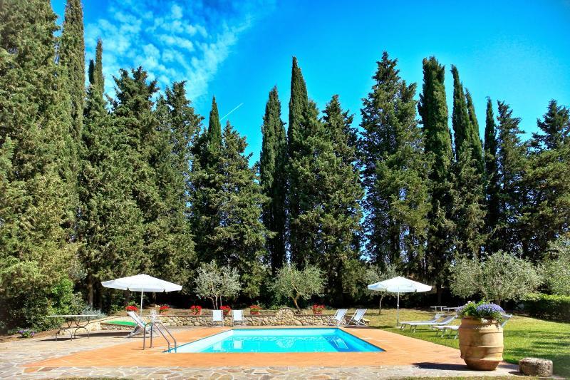 6 bedroom Villa in Poggibonsi, Chianti, Tuscany, Italy : ref 2294127 - Image 1 - Staggia - rentals