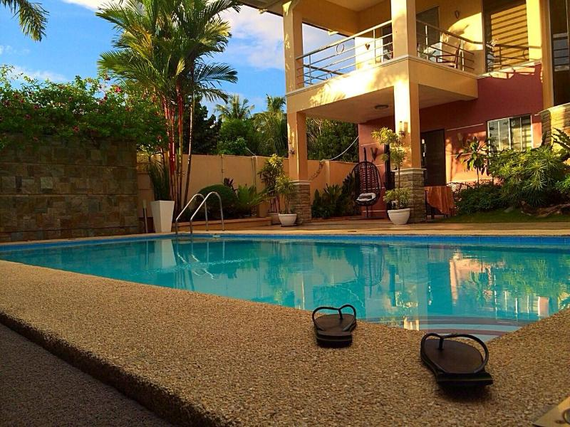 Pool side view - Luxury Holiday Villas with Pool +Maids Service - Davao - rentals