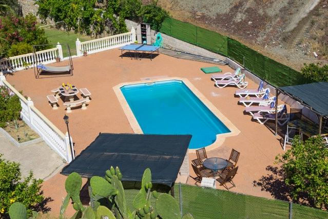 Villa, private pool with poolside bar, ping pong - Image 1 - Carratraca - rentals