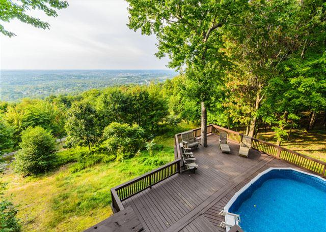 OVR's Laurel View Retreat-The most spectacular view awaits you! BEST SELLER!! - Image 1 - Hopwood - rentals