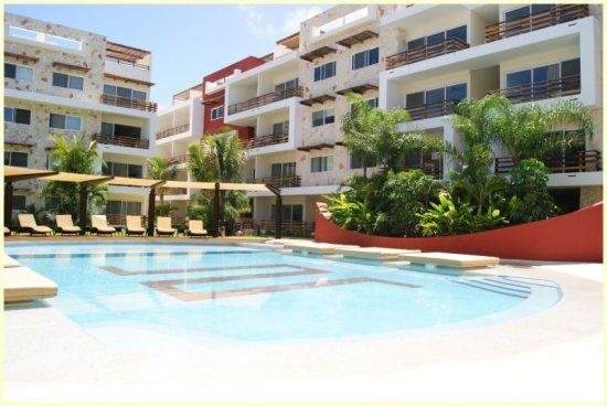 The beautiful pool in Sabbia - Big Private Terrace and Jacuzzi, Nice PH for 6 - Playa del Carmen - rentals